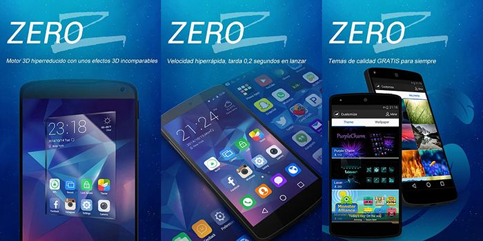 Zero Launcher - Screenshots