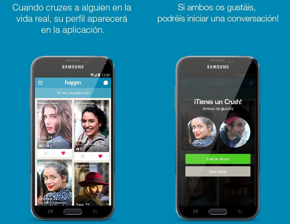 Happn ScreenShots
