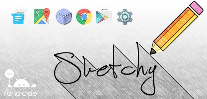 Sketchy Icon Pack APK