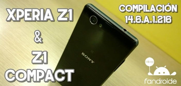 FTF 14.6.A.1.216 Xperia Z1 Compact