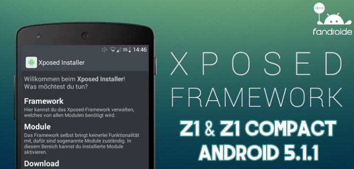 Xposed para Z1 Compact - Post